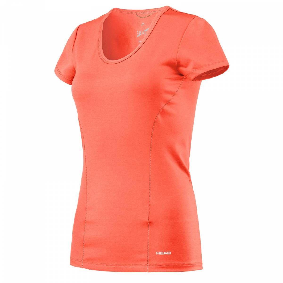 Head Vision Shirt W - coral