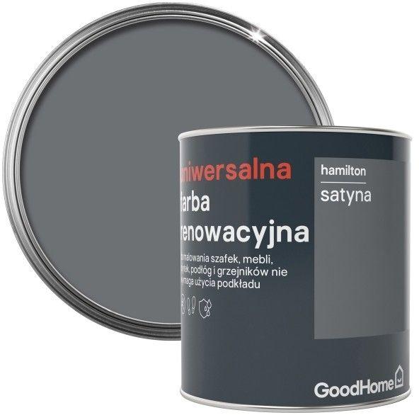 Farba renowacyjna uniwersalna GoodHome hamilton satyna 0,75 l