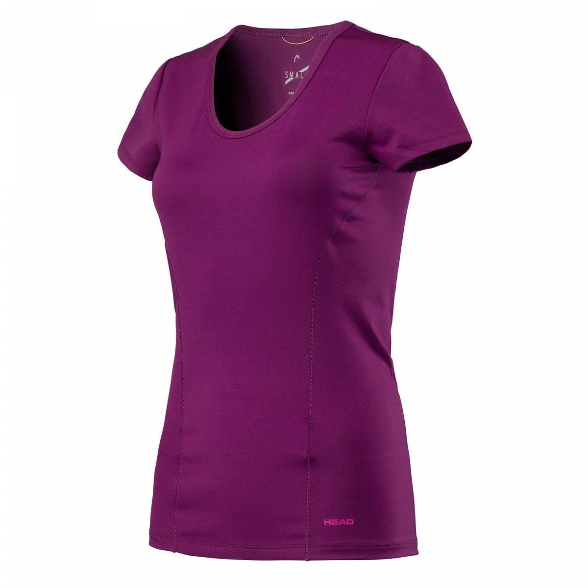 Head Vision Shirt W - purple