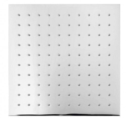 Deszczownica kwadratowa 250x250 mm, chrom mosiądz