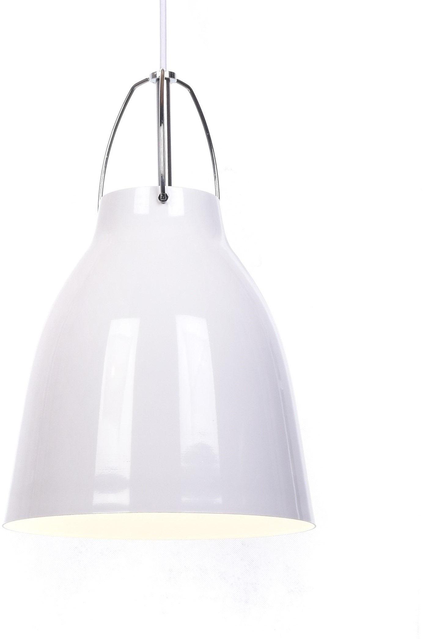 NOWOCZESNA LAMPA WISZĄCA BIAŁA RAYO