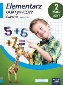 Elementarz odkrywców 2 Ćwiczenia Matematyka Część 1 ZAKŁADKA DO KSIĄŻEK GRATIS DO KAŻDEGO ZAMÓWIENIA