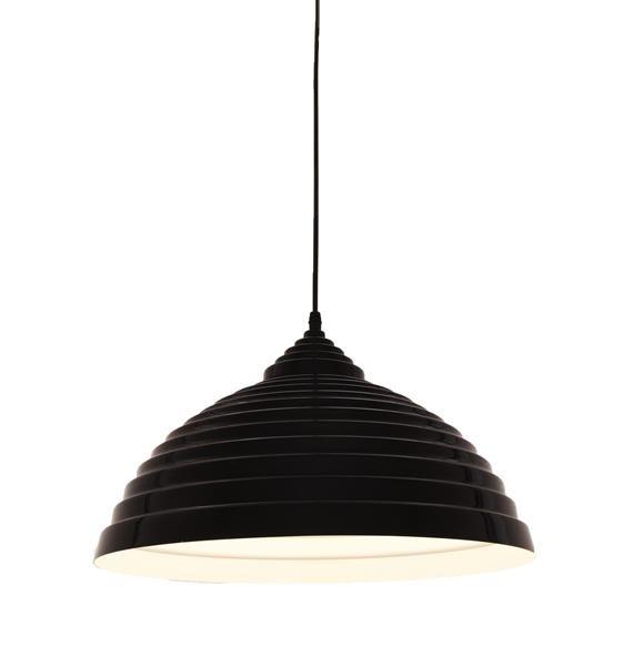 Lumina Deco 7620 czarny połysk sufitowa lampa wisząca