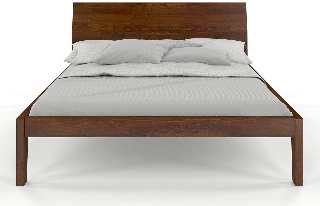 Drewniane łóżko skandynawskie Iguana 2X - 6 Kolorów