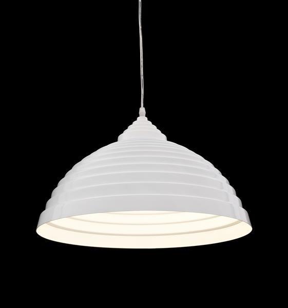 Lumina Deco 7620 biały połysk sufitowa lampa wisząca