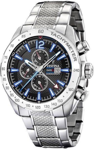 Zegarek Festina F20439-5 Sport Chronograph - CENA DO NEGOCJACJI - DOSTAWA DHL GRATIS, KUPUJ BEZ RYZYKA - 100 dni na zwrot, możliwość wygrawerowania dowolnego tekstu.