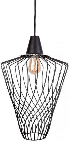 Lampa wisząca druciana czarna Wave L industrialna zwis 8856 - Nowodvorski Do -17% rabatu w koszyku i darmowa dostawa od 299zł !