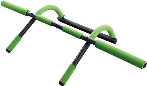 Schildkröt Fitness wielofunkcyjny drążek do drzwi 4 w 1, wielofunkcyjnie regulowany, maks. 100 kg, 960044 wielokolorowa srebro M