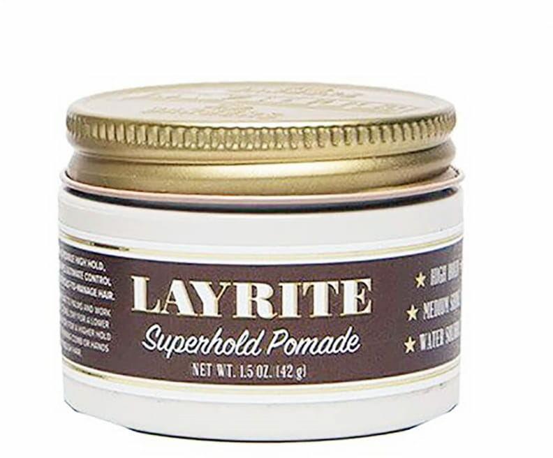 Layrite Superhold Pomade wodna pomada mocne utrwalenie 42g