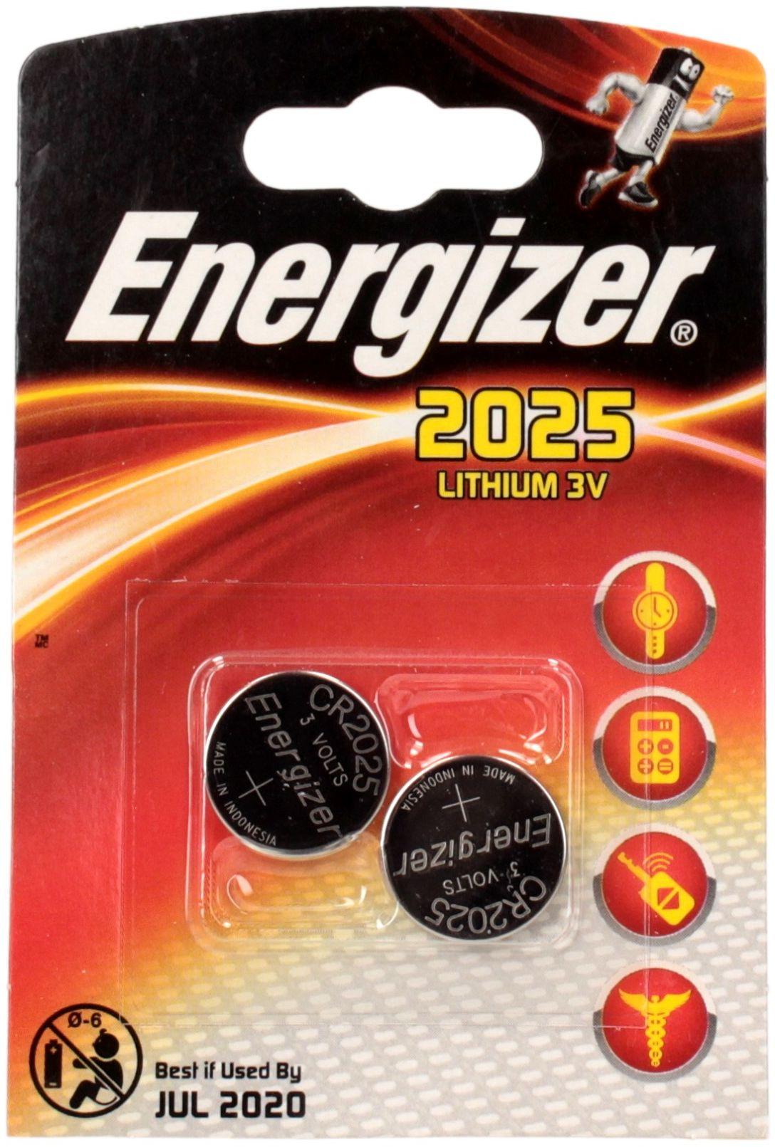Bateria litowa CR2025 Energizer (2)