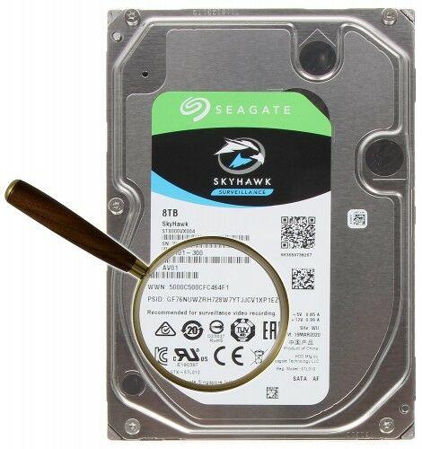 DYSK DO REJESTRATORA HDD-ST8000VX004 8TB 24/7 SkyHawk SEAGATE