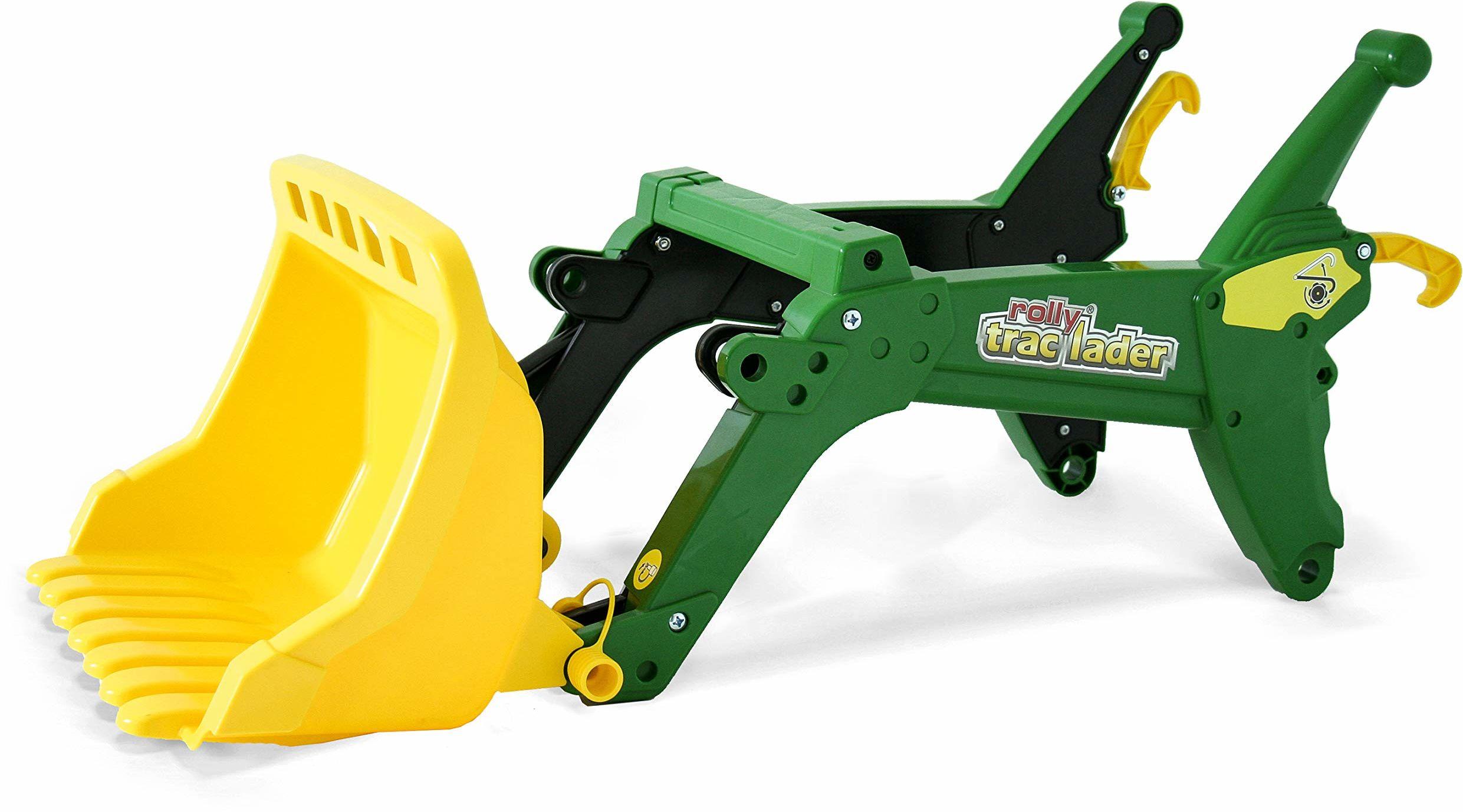 Rolly Toys RollyTrac 409396 ładowarka czołowa dla dzieci w wieku od 3 do 10 lat, do pojazdów RollyToys, łatwy montaż