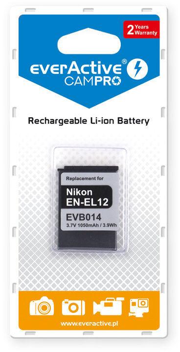 Akumulator foto everActive CamPro Nikon EN-EL12 Li-ion 1050mAh