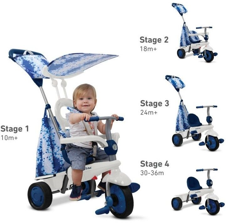 Smart-Trike Spirit rowerek 4w1 niebieski