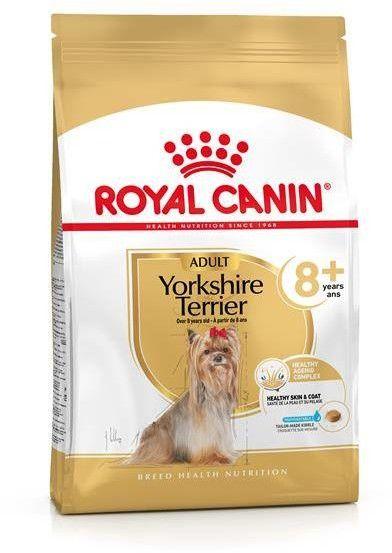 ROYAL CANIN Yorkshire Terrier Adult 8+ 3kg-karma sucha dla dojrzałych psów rasy yorkshire terrier, powyżej 8 roku życia