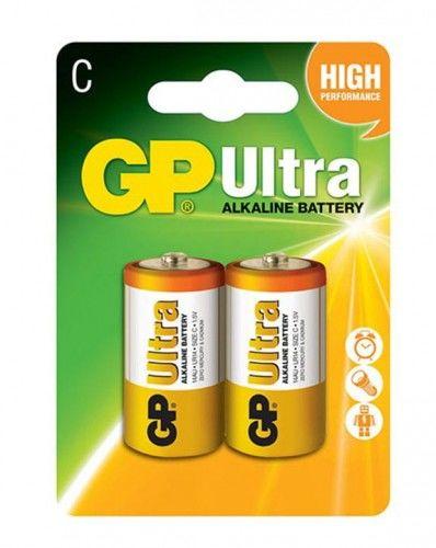 BATERIA GP LR14 R14 ULTRA ALKALINE 1,5V - 2 szt.
