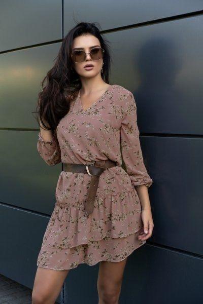 Merribel provena pink sukienka damska