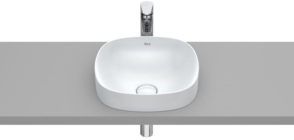 Roca Inspira Soft umywalka blatowa 37cm Perłowy A32750R630