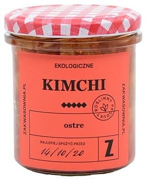 Kimchi ostre bio 300 g - zakwasownia