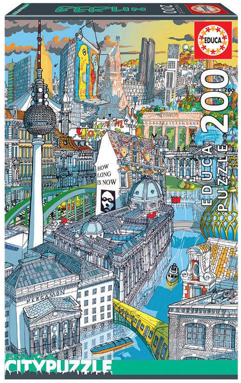 Educa Puzzle Wielkie metropolie Berlin 200 el. 18469