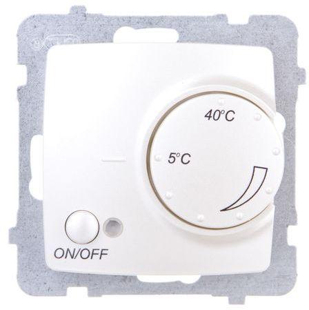 KARO Regulator temperatury /czujnik napowietrzny/ ecru perłowy RTP-1SN/m/42