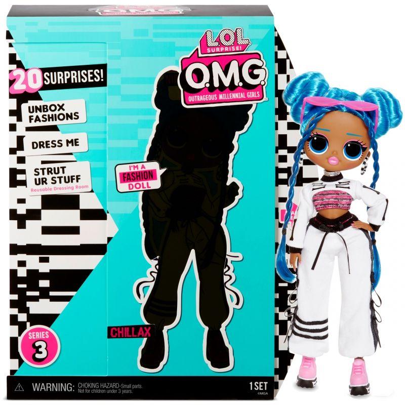 L.O.L. Surprise OMG Core Doll- AA- Chillax Lalka Fashion LK