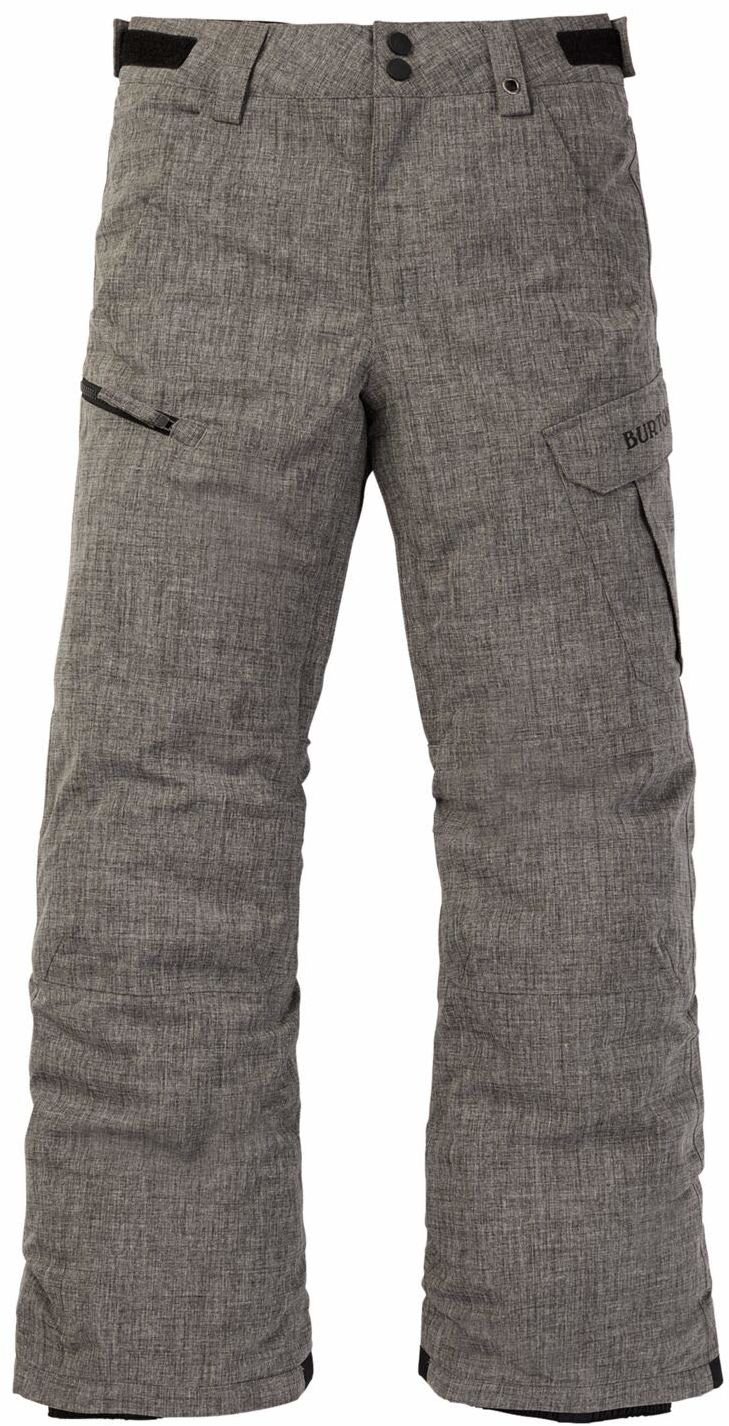 Burton Boys'' Exile bojówki spodnie, Bog Heather, S