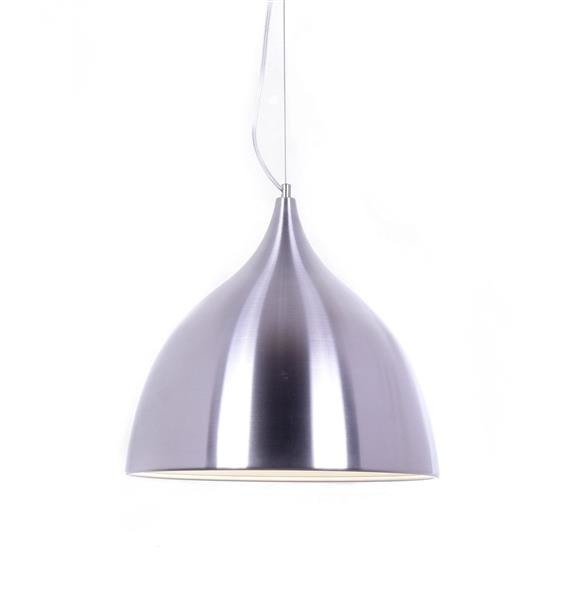 Lumina Deco Vittorio nowoczesna srebrna lampa wisząca
