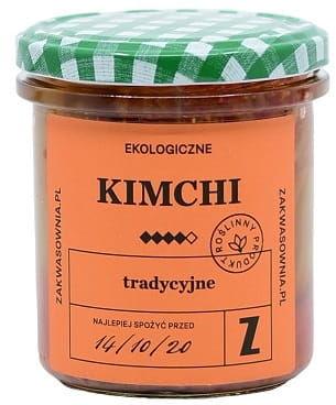 Kimchi tradycyjne bio 300 g - zakwasownia