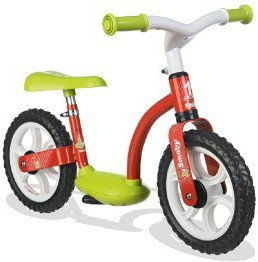 Smoby - Rowerek biegowy Czerwony 452053