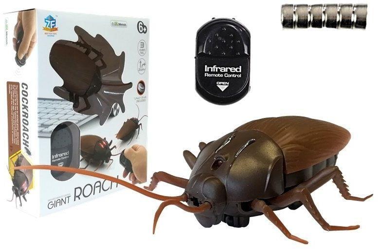 Karaluch Insekt Zdalnie Sterowany R/C Brązowy