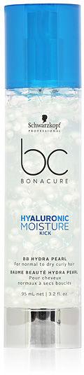 Schwarzkopf BC Hyaluronic Moisture Kick BB Hydra Pearl Krem nawilżający do włosów kręconych 95 ml