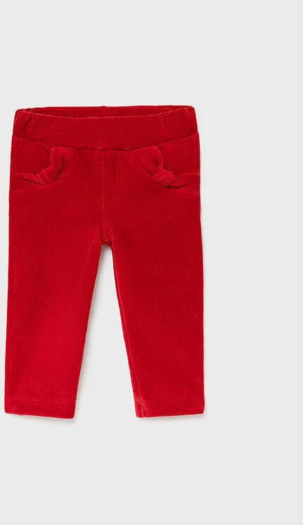 Spodnie materiałowe 514 Czerwony Super Skinny Fit
