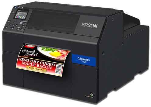 Drukarka etykiet kolorowych ColorWorks CW-C6500 - CW-C6500P