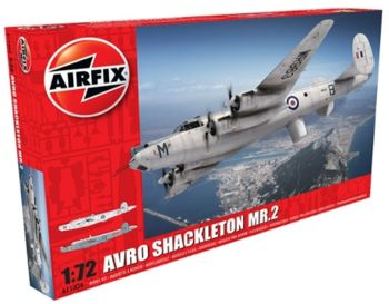 Brytyjski Samolot Rozpoznawczy Avro Shackleton model do sklejania Airfix