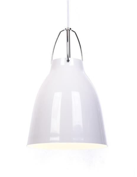 Lumina Deco Rayo nowoczesna biała lampa wisząca