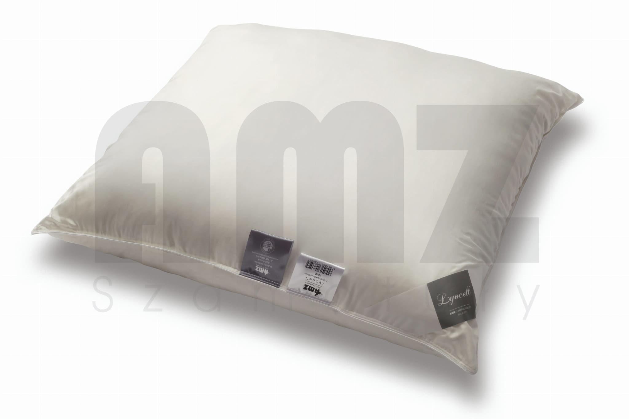 Poduszka Antyalergiczna 50x70 AMZ Lyocell Gładka