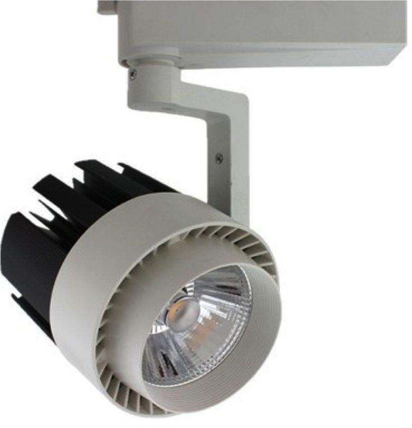 Reflektor LED Spot 20W, 3000K - szyna