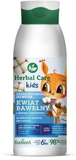 HERBAL CARE Kids kremowa emulsja do mycia 400 ml