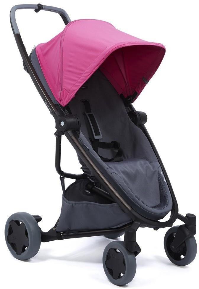 Quinny Zapp Flex Plus Wózek spacerowy Pink on graphite 1398381000