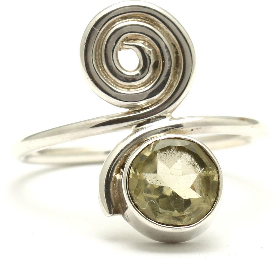 Kuźnia Srebra - Pierścionek srebrny, rozm. 14, Kwarc, 3g, model