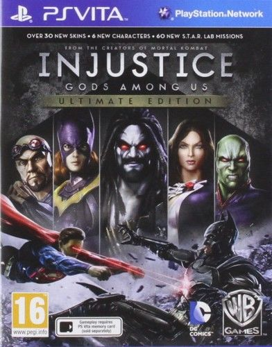 Injustice Gods Among Us Ult. Ed. PSV