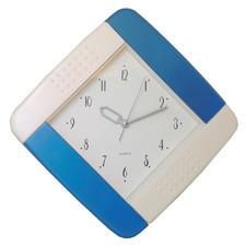 Zegar ścienny kolorowy kwadrat