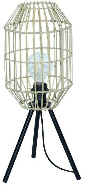 Lampa stołowa GoodHome Wutai 60 W E27 bambus