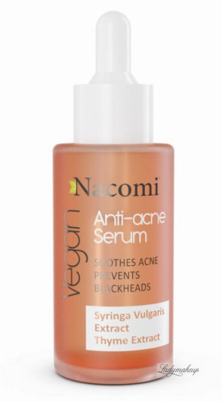 Nacomi - Anti-acne Serum - Serum przeciwtrądzikowe do twarzy - 40 ml