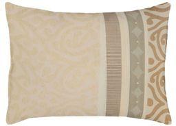 """APELT Prato_35x50_20 poduszka """"tkanina żakardowa z ornamentami"""", naturalne odcienie"""