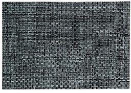 Kela podkładki pod talerze Plato 45 x 30 cm z PCW tworzywo sztuczne/poliester w kolorze czarnym/białym, 1 x 30 x 1 cm