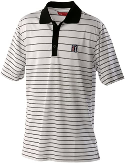 PGA TOUR Męska koszulka polo Albany, biała, S