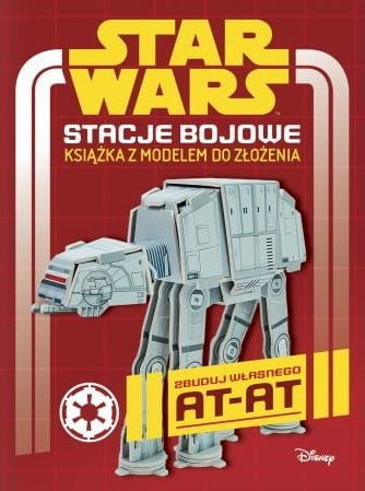 Star Wars Stacje bojowe Książka z modelem do złożenia Craig Jelley
