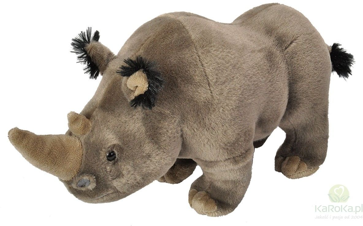 White Rhino Adult - Wild Republic - nosorożec przytulanka